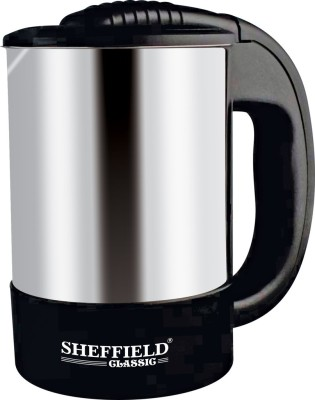 Sheffield Classic SH 7009 Electric Kettle(0.5 L, Silver)