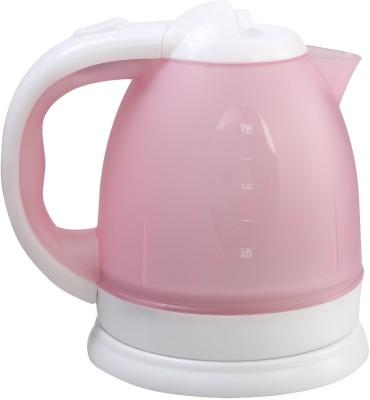 Shrih SH - 02647 Plastic 1.5 L Electric Kettle(1.5 L, Pink White)