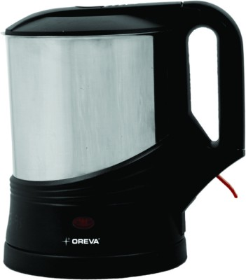 Oreva OEK Electric Kettle(1 L, Silver)