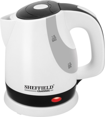 Sheffield Classic SH 7001 PP1 Electric Kettle(1 L, White)