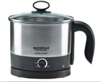 Maharaja Whiteline Easy Cook (EK-104) Electric Kettle(1.2 L, Black & Metal Finish)