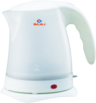 Bajaj KTX 7 Electric Kettle(1 L, White)
