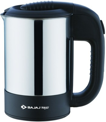 Bajaj Majasty KTX 2 Electric Kettle(0.5 L, Silver, Black)
