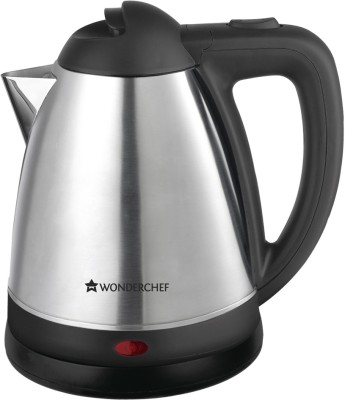 Wonderchef 8904214701932 Electric Kettle(1.5 L, Silver, Black)