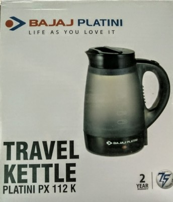 Bajaj Platini platini px 112 k Electric Kettle(0.4 L, White)
