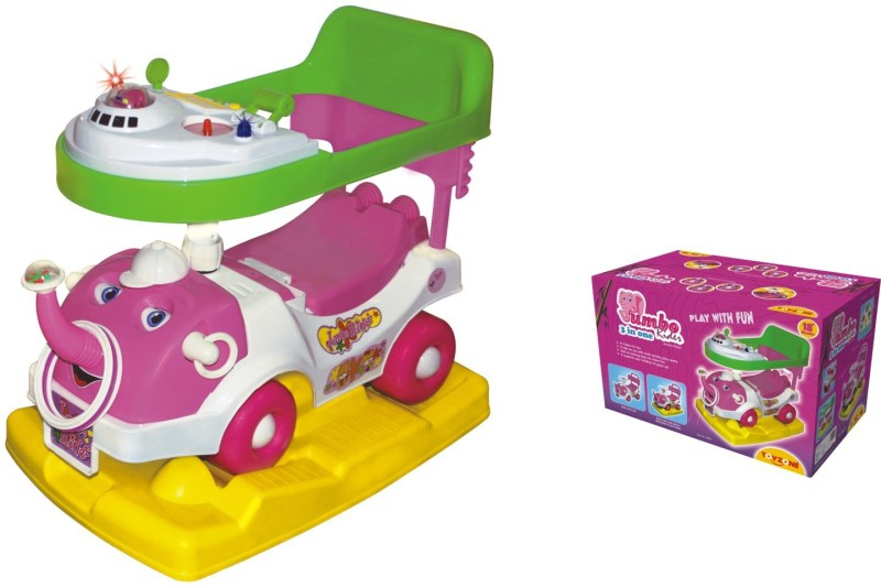 Toyzone Jumbo Rider 3 In 1 Car(Multicolor)