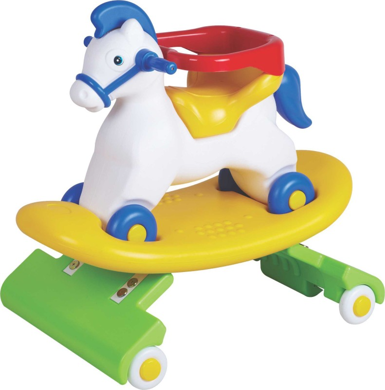Toyzone Nepoleon Horse 3 In 1 Car(Multicolor)