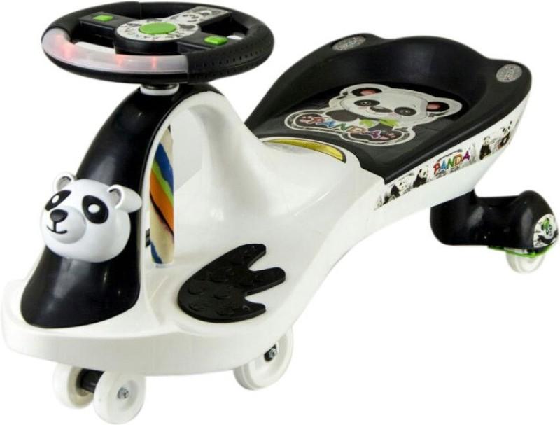 Style Zone Fnk-Pandafrog B/W-White Car(White, Black)