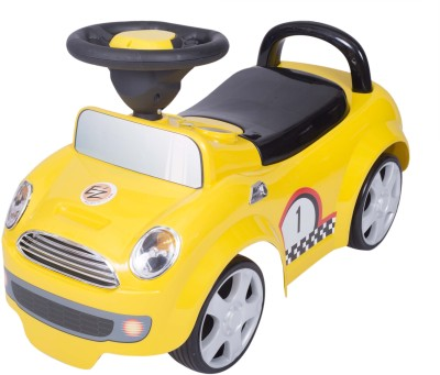 Ez, Playmates Baby Ride On Cooper Car Jeep(Yellow)