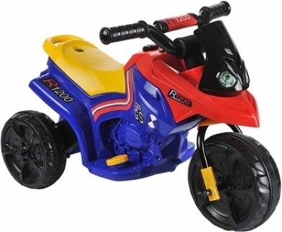 Alison Lttl battery operated - blue & red Bike