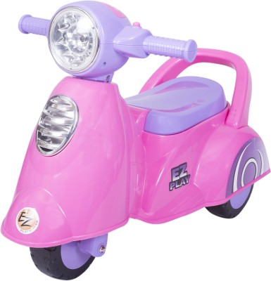 Ez, Playmates Baby Ride On Italian Scooter Pink Bike