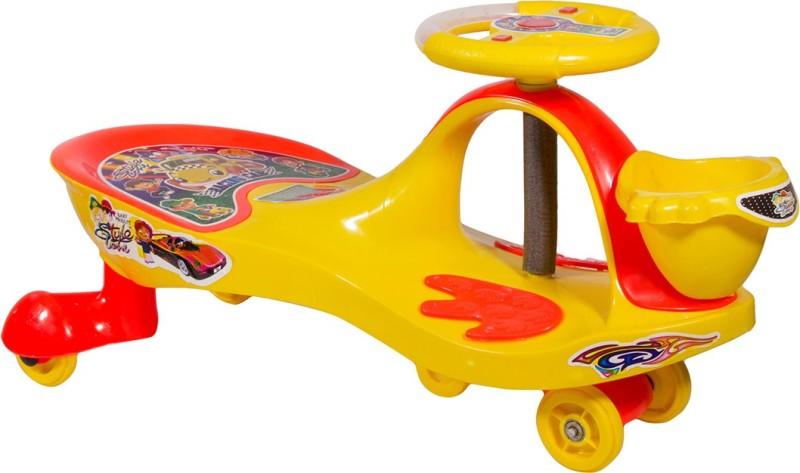 Style Zone Fnk-Sz02-Basketswingcar-Yellow Car(Yellow)