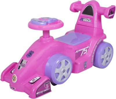 Ez, Playmates Baby Ride On Formula Pink Car