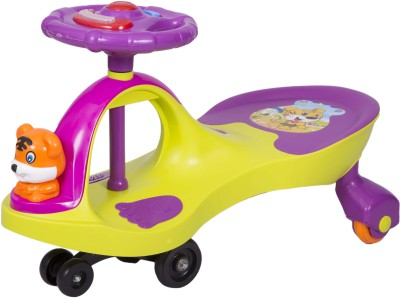 Ez, Playmates Happy Tiger Magic Car Green Purple Car(Green Purple)