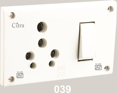 Citra 15 A. switch socket combined Electrical Combo