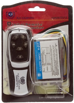 ACCESSOREEZ Wireless Remote Control Switch For Fans And Light Electrical Combo