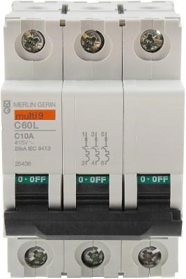 Schneider TP 10A 25KA C-CURVE 25436 MCB