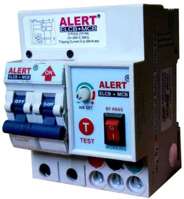 Alert Alert Elcb+Mcb(2 Port) Ae+M2com2 MCB
