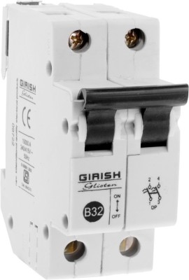 GIRISH Glisten 32 Amp DP MCB