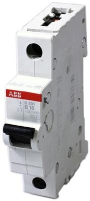 ABB C Series SH201 M C 16A Single Pole MCB