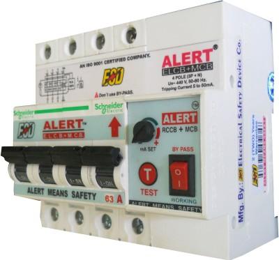 Alert ELCB+MCB_63A AE+MC63A4(POLE) MCB