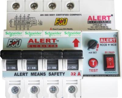 Alert AE+MC32A4(POLE)(ELCB+MCB) AE+MC32A4PL MCB