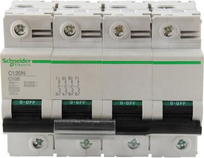 Schneider FP 100A 10KA C-CURVE C120N 18374 MCB