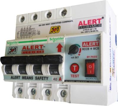Alert ELCB+MCB_40A AE+MC40A4(POLE) MCB