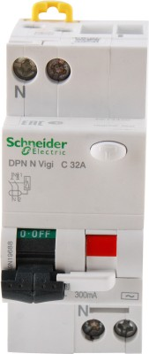 Schneider RCBO DP 32A 300mA A9N19688 MCB
