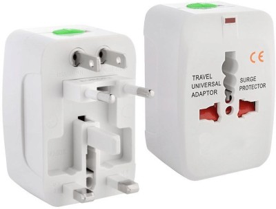 Swarish SL563WH Universal Worldwide Travel Charg Adapter Two Pin Plug