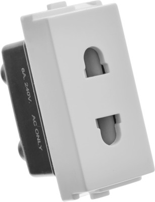 Girish 8709 6 Two Pin Socket
