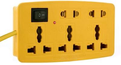LKC 3 in1 Extension Cord 10 Three Pin Socket
