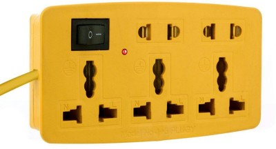 LKC (020) 3 in 1 Extension Cord 10 Three Pin Socket