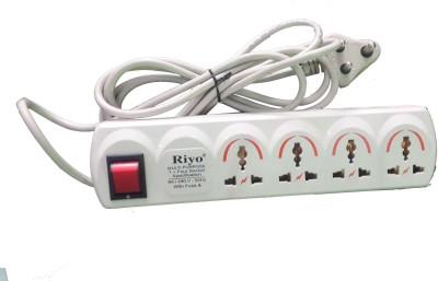 Riyo ABS 6 Three Pin Socket