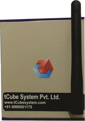 Tcube System BLEACH WHITE 8 One Way Electrical Switch