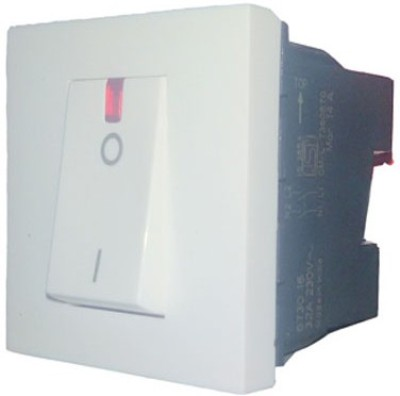 Legrand Legrand Myrius 673016 32A DP Indicator White Switch 25 One Way Electrical Switch