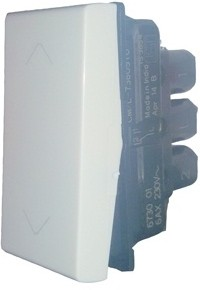 Legrand Legrand Myrius 673001 6A 2Way White Switch 6 Two Way Electrical Switch(Pack of 1 Number of Switches - 1) Flipkart