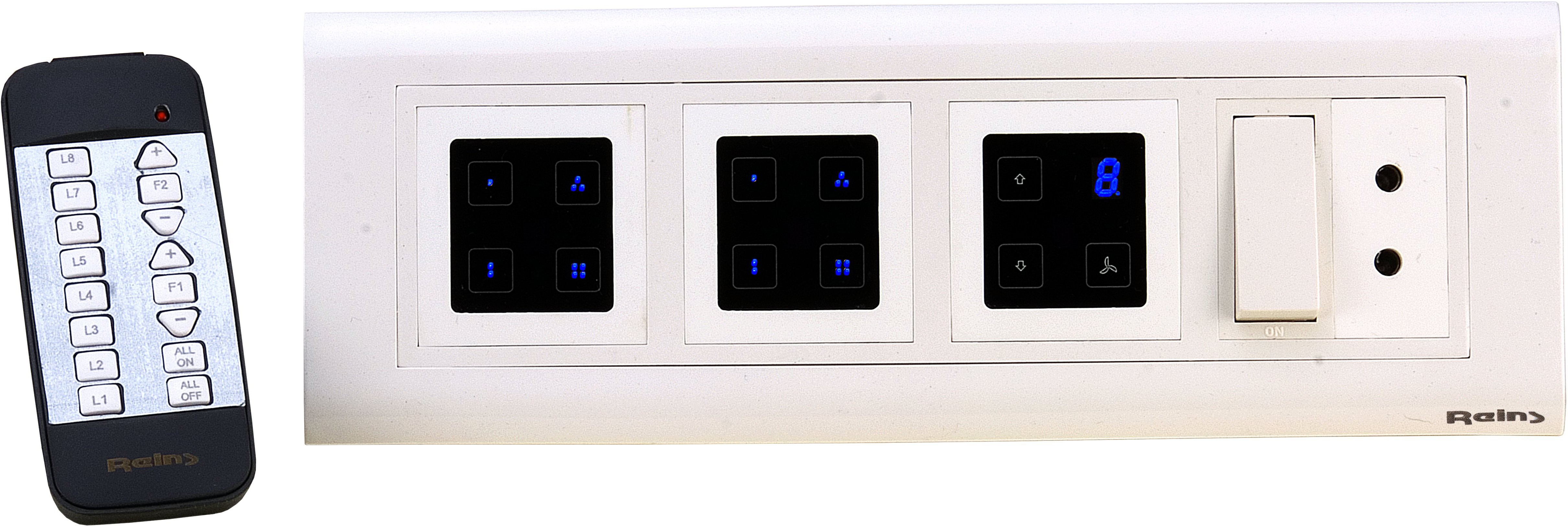 Reins Touch8H 5 One Way Electrical Switch(Pack of 2 Number of Switches - 1) Flipkart