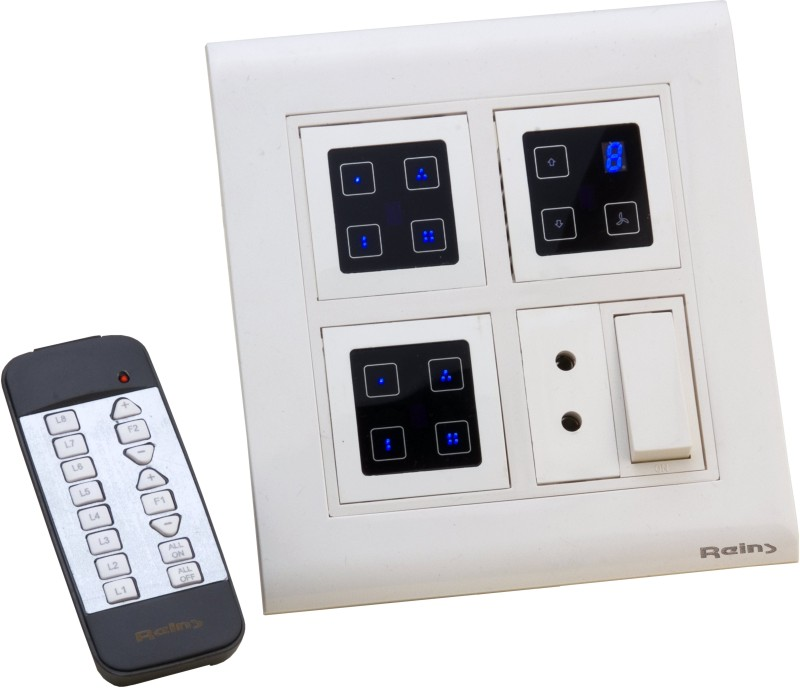 Reins Touch8Sq 5 One Way Electrical Switch(Pack of 2 Number of Switches - 1) Flipkart