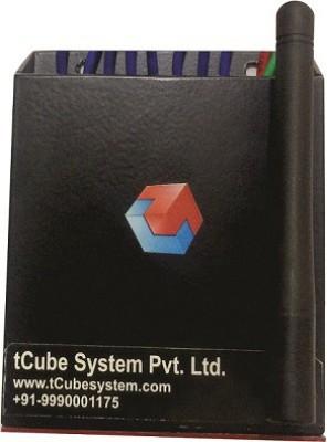 Tcube System TC-M4B Matte Black 8 One Way Electrical Switch