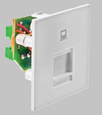 Girish Modular Glisten Computer RJ-45 Modem Jack 6 One Way Electrical Switch