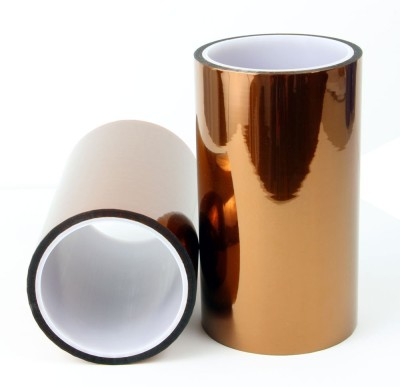 Electrical Insulations Polymide Tape 150mm x 33mt. ( Kapton )