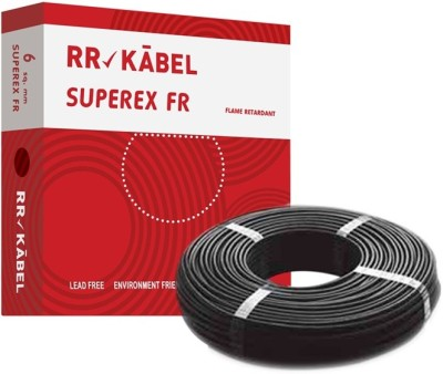 RR Kabel PVC 6 sq/mm Black 90 m Wire