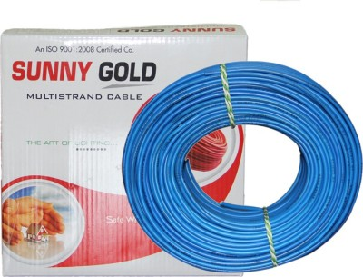 Sunny Gold PVC Blue 90 Wire