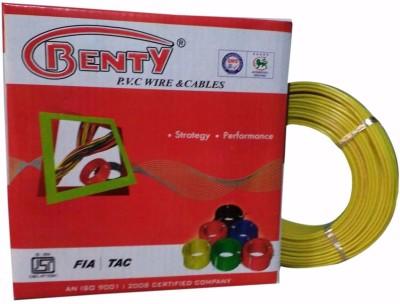 Benty PVC 2.5 sq/mm Yellow 91.44 m Wire