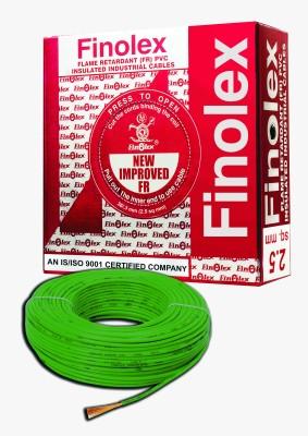 Finolex FR PVC, PVC 2.5 sq/mm Green 90 m Wire