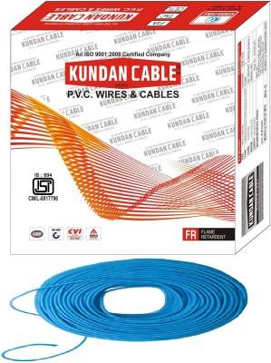 KUNDAN CABLE PVC 2.5 sq/mm Blue 90 m Wire