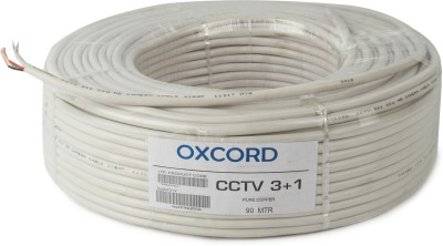 OXCORD PVC White 90 m Wire