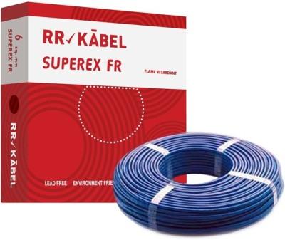 RR Kabel PVC 6 sq/mm Blue 90 m Wire