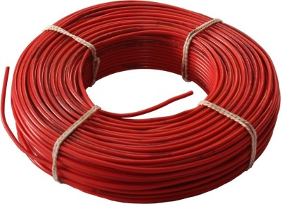 SWARAJ CABLE FR PVC Red 90 Wire